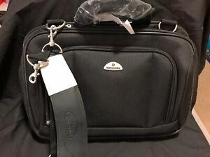 SAMSONITE Black Polyester Travel/Business/Airport/Tote/Shoulder Bag - New