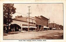 MI - 1900's North Side Chicago Street in Sturgis, Michigan - St. Joseph County