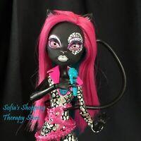 Monster High Fierce Rocker CATTY NOIR Doll Tail Microphone Outfit Boots Lot