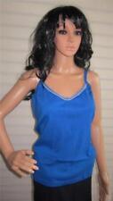 Camisas y tops de mujer de color principal azul 100% algodón talla 40