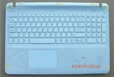New for sony vaio SVF152 SVF153 SVF152C29L Palmrest US keyboard touchpad backlit