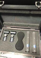 Neumann KM 185 D nx AES 42 Digital Mikrophon Studio Stereo Set Paar Hyperniere
