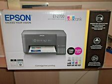 Epson EcoTank ET-2700 All in one Printer with spare ink.
