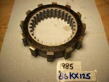 1985-86 KX125 COMPLETE CLUTCH PLATE SET KX 125