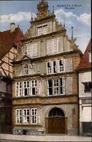 HAMELN Weser alte color AK Niedersachsen um 1910 ungebraucht alte Ansichtskarte
