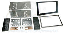 Connects2 Saab 93 9-3 06+ Double Din Car Stereo Facia Fitting Kit bezel cage