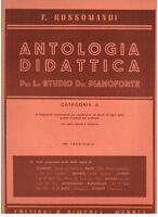 Rossomandi: Anthologie Für Lo Studio Der Klavier Kategorie A Fa.viii