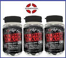 Onyx Alpha Negro V2 QUEMADOR DE GRASA x 2 (180 cápsulas)