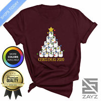 Funny Christmas 2020 T Shirt Humour Quarantine Gift Xmas Quote Toilet Paper Tee