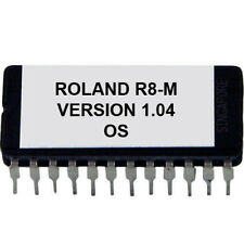 Roland R-8m - Version 1.04 Firmware Upgrade Eprom Update for R8M Drummachine