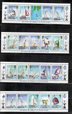 Solomon Islands,Scott#570-574,Mini Sheet,perf,MNH,Scott=$25