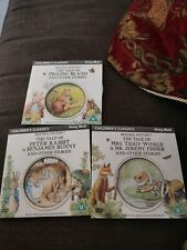 Beatrix Potter Children's Classics Daily Mail dvds