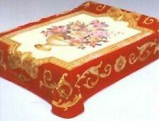 Solaron Korean Blanket Thick Mink Plush queen size Roses Original Licensed throw