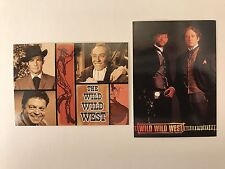 PROMO CARDS: WILD WILD WEST THE MOVIE & CLASSIC: 2 Different w/ #P1 CLASSIC