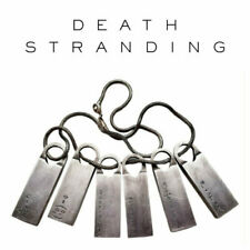 Death Stranding Norman Reedus Sam Chemical Fomula Pendant Cosplay Alloy Necklace