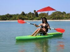 Inflatable PVC Sit Down or Stand Up Paddle Surf Board Kayak Dingy Raft Boat
