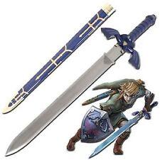 "Legend Of Zelda Twilight Princess ocarina of time Link's master sword Sharp 42"""