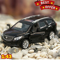 1/43 Buick Enclave Black / White / Purple Diecast Metal Model Premium Limited