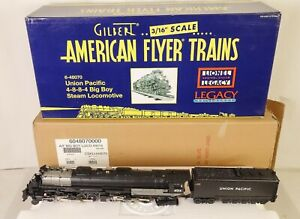 AMERICAN FLYER #6-48070 UNION PACIFIC 4-8-8-4 BIG BOY STEAM LOCOMOTIVE-EX IN OB!