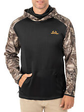 Realtree Men's Performance Fleece Hoodie with Face Gaiter Sizes XL, 3XL NEW