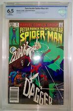 Spectacular Spider-Man #64 CBCS ( 6.5 ) 1982 1st Appear. & Origin Cloak & Dagger