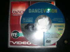 RARE Dance Vision Oct 2004 Exclusive Promo Only Music Videos VJ Pro Series DVD