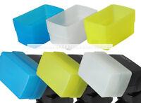 3 COLOR (Blue Yellow White) Kits Flash Bounce Diffuser for Nikon SB800 SB-800