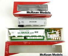 2 McKean Ho Acf Cvrd Hopper Kits 3Bay Reading, 4Bay Grace ~Partial Builds~ T102