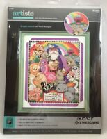 """2015 Counted Cross Stitch Embroidery Kit """"And God Remembered Noah"""" 8x10 2434F"""
