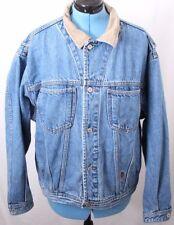 Tommy Hilfiger Jeans Vtg Button Up Pocketed Blue Denim jean Jacket Women's XL