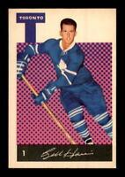 1962-63 Parkhurst #1 Billy Harris ! EXMT+ X1262078