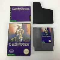 Deadly Towers (Nintendo Entertainment System, 1987)Authentic,Complete-Tested