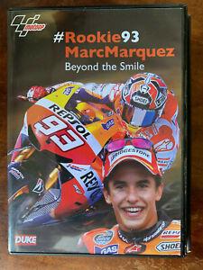 Rookie 93 Marc Marquez DVD Beyond the Smile Moto GP Bike Motorbike
