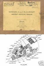 HANDLEY PAGE VICTOR HISTORICAL MAINTENANCE SERVICE MANUAL RARE ARCHIVE 1960's