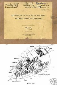 HANDLEY PAGE VICTOR HISTORIC MAINTENANCE SERVICE MANUAL RARE ARCHIVE CD 1960's