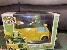 Rare FUNKO POP TEENAGE NINJA TURTLE VAN 05 RIDES TMNT !