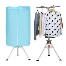Portable Ventless Laundry Clothes Dryer Folding Drying Machine Heater 900W 22lbs
