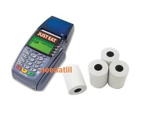 Just Eat Machine Compatible Thermal Paper Order Credit Card Receipt Rolls
