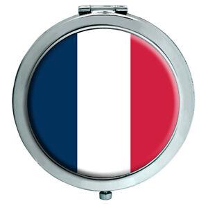 France (Bandera) Espejo Compacto
