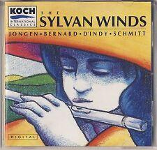 Jongen, Bernard, Schmitt - Sylvan Winds Quintet: Sylvan Winds (Koch) Like New