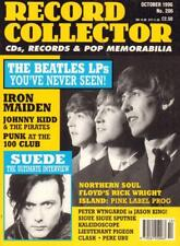 No.206 Oct 1996:The Beatles,Suede, Iron Maiden(Magazine)Record Colle-VG