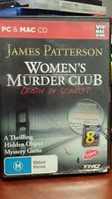 James Patterson Women's Murder Club Death in Scarlet PC GAME - FREE POST *