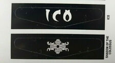 ICO & SHADOW OF THE COLOSUS PS4 Dualshock 4 Controller Lightbar Decal Stickers