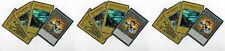 3 Sets: 4-Card Duelist Kingdom _ Glory of King's Hand + Sail +Token YGLD Yugioh