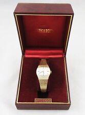 Seiko Stainless Steel Case Oval Wristwatches