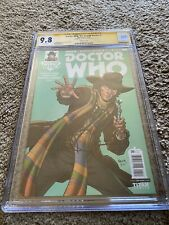 DOCTOR WHO: 4TH DOCTOR (2016 Series) #5 D NAUCK 9.8 SS CGC Signed By Todd Nauck