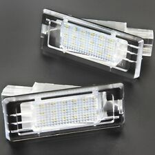 LED Éclairage de Plaque pour Renault Fluence Maître II Twingo II Modus 73504