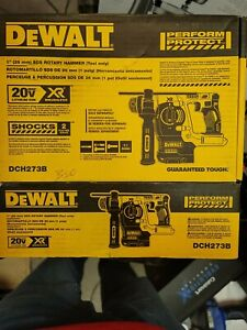 DEWALT DCH273B 20V XR BRUSHLESS SDS ROTARY HAMMER (TOOL ONLY)(OPENBOX NEW)