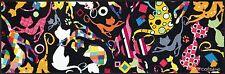 wash+dry Bodenmatte Teppich waschbar Fußmatte Catsline Patchwork 60 x 180 cm