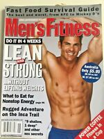 Men's Fitness MF Exercise Magazine June 2000 No Weights Workout (R) Australian